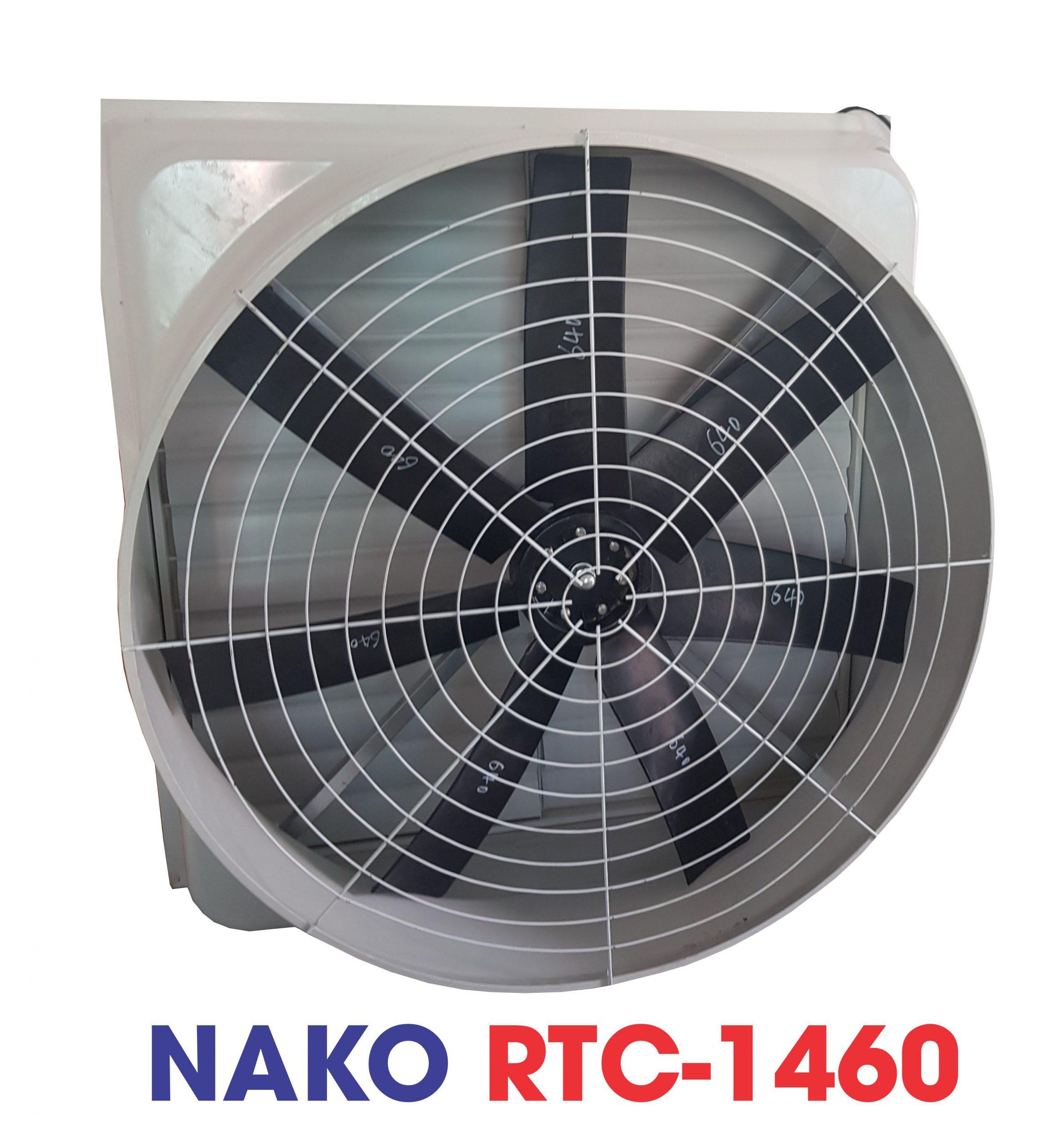 Thông số kỹ thuật Khung vỏ: nhựa Composite Kích thước: 1460x1460x590mm Lưu lượng: 44.000 m3/h Điện áp: 380v-50hz Công suất: 1.5 Kw. Độ ồn : 63dB
