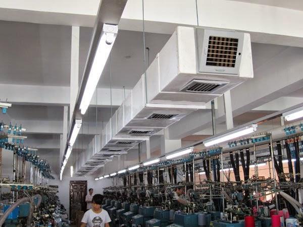 Những lý do nào bạn nên dùng hệ thống làm mát nhà xưởng để làm mát không khí ?